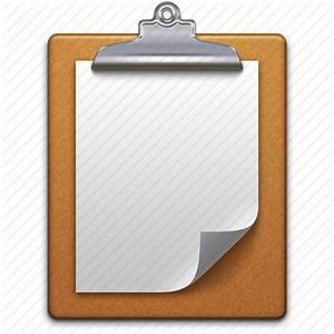 clipboard copy document documents page paper paste With document clipboard