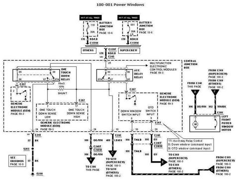 2005 F150 Window Wiring Diagram by Fuse For Remote Entry Not Working Ford F150 Autos Weblog