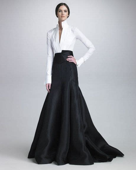 womens black long gazar evening skirt grooming fashion