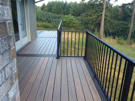 Tiger Wood Decking by Timbertech Tigerwood Deck Deck Masters Llc Portland Or
