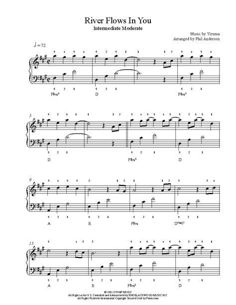 41 sheet music found yiruma river flows in you. River Flows In You by Yiruma Piano Sheet Music | Intermediate Level