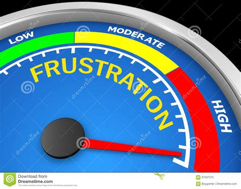 frustration cartoons illustrations vector stock images