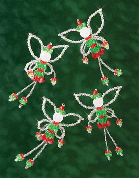 17 best ideas about beaded christmas ornaments on