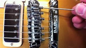 Babicz Full Contact Hardware Tune-o-matic Installation