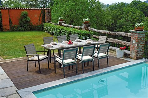 tavolo da giardino allungabile tavolo riomaggiore allungabile 150 210 x 89 cm rte