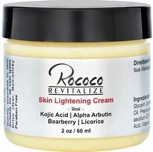 Rococo Skin Lightening Cream with Kojic Acid Alpha Arbutin ...