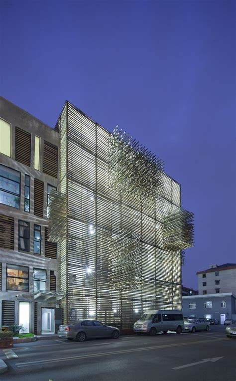 Galeria De Red Wall  3gatti Architecture Studio 5