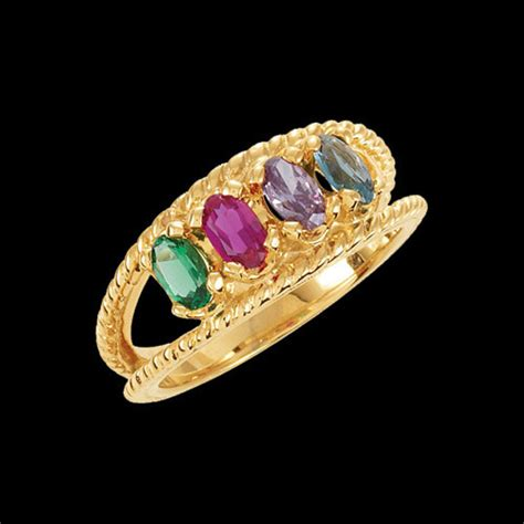 design your own mothers rings 6 stones mothers rings handcrafted gifts and family jewelry