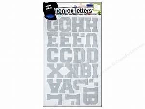 reflective iron on letters by dritz silver createforless With reflective fabric letters
