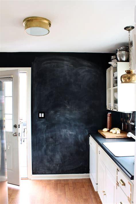 chalkboards in kitchens chalkboard wall in the kitchen kitchen pinterest