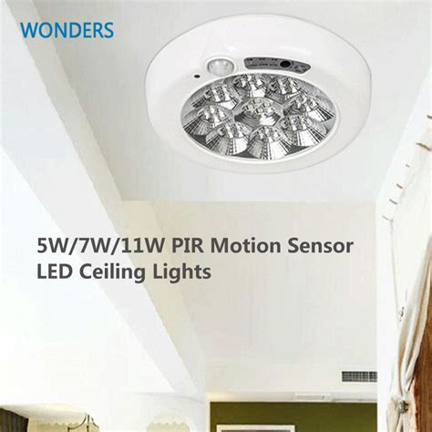 Pir Motion Sensor Led Ceiling Lights Surface