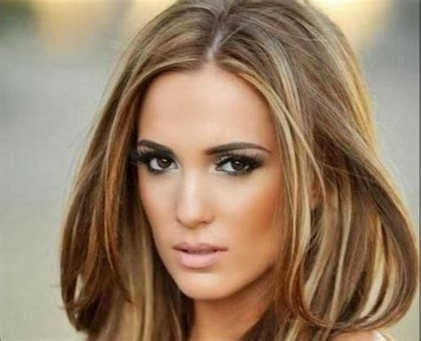 Best Hair Colors by Best Hair Color For Brown With Fair Olive Medium