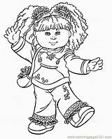 Coloring Cabbage Patch Pages Cartoon Printable Sheets Kid Character Books Characters Colouring Sheet Cartoons Coloringpages101 Cabbages Popular Faith Hope Via sketch template