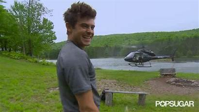 Helicopter Bear Reacts He Wild Grylls Running