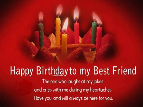 Happy Birthday Images For My Happy Birthday To My Best Friend Birthday Wishes For A