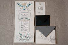 wedding invitation inspired by egyptian revival jewelry With wedding invitations cards egypt