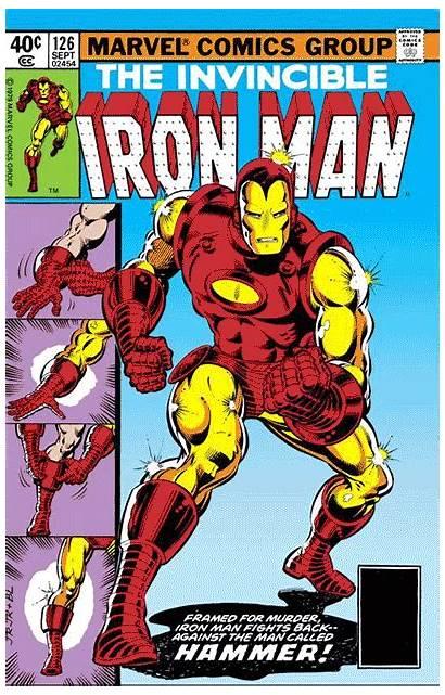 Iron 126 Marvel Captain America Comics Vol