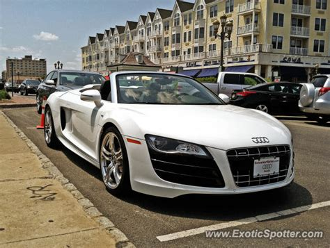 Audi R8 Spotted In Long Branch, New Jersey On 05292012