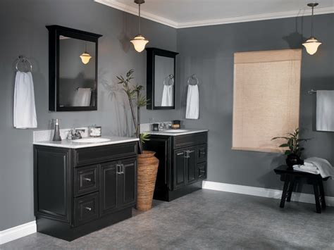 Sage Green Kitchen Cabinets With Black Appliances by Bathroom Amazing Grey Bathroom Decoration Using Double