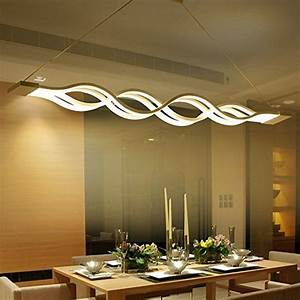 Esstisch Lampe Design : kjlars led pendelleuchte esstisch h ngelampe wohnzimmer k che led pendellampe moderne aluminium ~ Markanthonyermac.com Haus und Dekorationen
