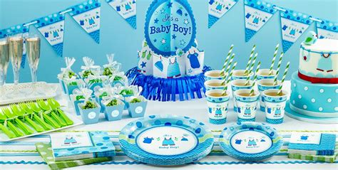 boy baby shower party supplies party city