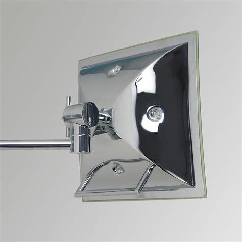 Polished Chrome Bathroom Mirrors by Astro Niro Polished Chrome Bathroom Mirror Light At Uk