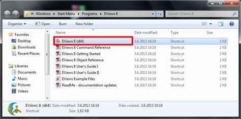 Eviews 5 Key