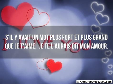 image gallery mots d amour
