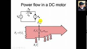 Dc Motor  Generator Power Flow