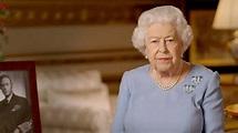 Queen Elizabeth II speech recalls royal father, WWII ...