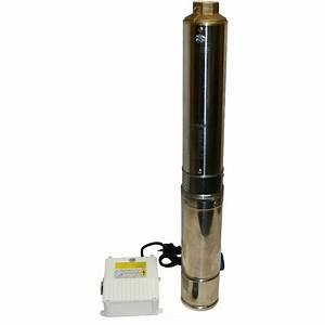 Pompe Eau Puit : pompe eau immerg e pour puits profond et forage 4m h ~ Edinachiropracticcenter.com Idées de Décoration