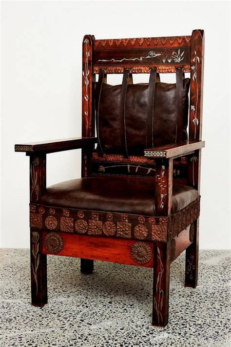 Deep seated, richly upholstered, overstuffed sofas and lounge chairs that are as covetable as they are comfortable. Carlo Bugatti (Italian, 1856-1940), throne armchair, c. 1902… - Seating - Singles/Pairs/Threes ...