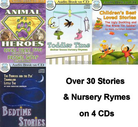 collections of children s audio books on 3 cds lot 488 | s l1000
