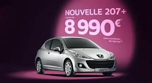 Prix 207 : nouvelle peugeot 207 partir de 8990 euros ~ Gottalentnigeria.com Avis de Voitures