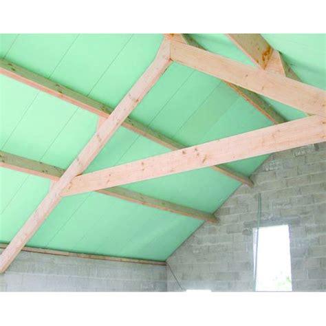 panneau de toiture isolant pour combles rexotoit hpu