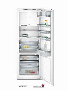 Siemens einbau kuhlschrank ki28fp60 mit vitafresh und for Siemens einbaukühlschrank mit gefrierfach
