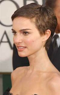 Very Short Pixie Cut Side View