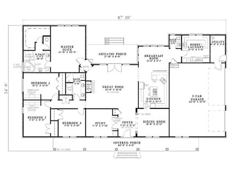house with floor plan n house plans 176