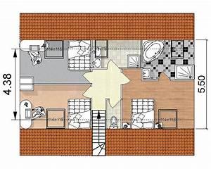 Amenagement de combles perdus dans le morbihan 56 for Superior plan maison en pente 4 amenagement de combles perdus dans le morbihan 56