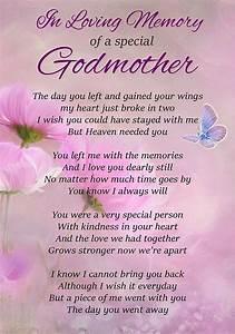 Loving, Memory, Special, Godmother, Memorial, Graveside, Poem