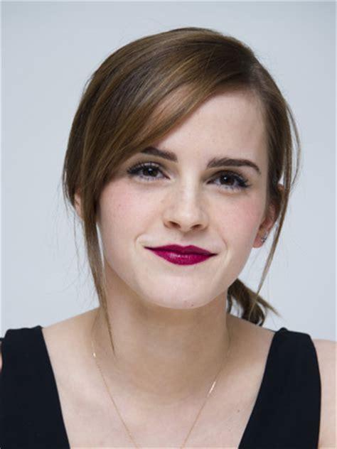 Emma Watson Pretty With Hot Pinks Lips Noah Film