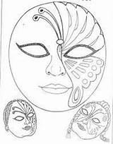Coloring Maszk Sablon Decoplage Masks Mask Carnival Pagi Adult Velencei Maschere Painting Mascara Venetian Carnevale Veneziane Artykuł Articolo sketch template