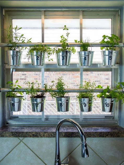 Growing Herbs In Kitchen Window by 1000 Ideas About Kitchen Garden Window On
