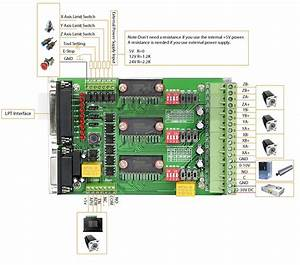 New 3 Axis Tb6560 3a Stepper Motor Driver Board Cnc Router
