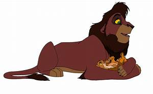 Kovu and his cubs by SpainLuvsRamono509 on DeviantArt
