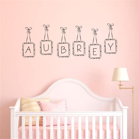 decor nursery letters name signs hanging special hanging frames custom personalized letter wall