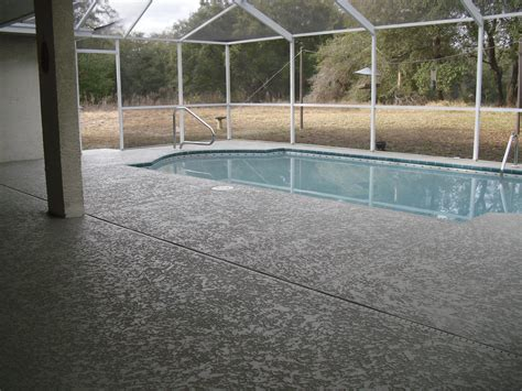 Acrylic Patio Covers by Pool Deck Spray Textures Decorative Concrete Experts