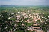 """Washington State University in the Palouse Hills"""