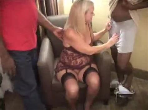 Healthy White Wife Has Two Black Cocks Cuckold Husbands