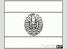Desenhos de Bandeiras dos Países de Oceania para colorir